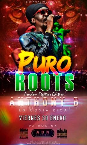 Puro Roots #02 con Anthony B (Enero 2015)
