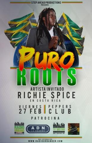 Puro Roots #03 con Richie Spice (Febrero 2015)