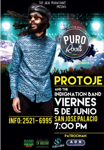 Puro Roots #04 con Protoje & The Indiggnation Band (Junio 2015)