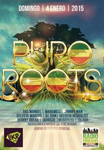 Puro Roots #01 con Johnny Dread (Enero 2015)
